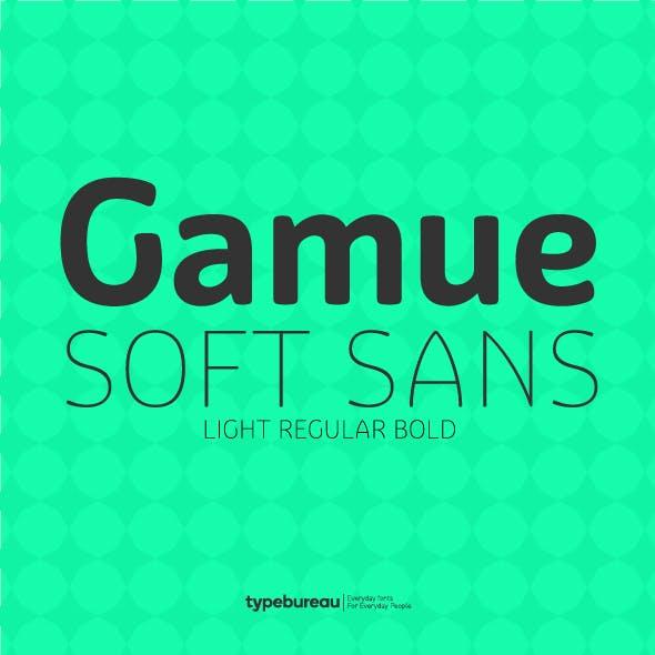 Gamue Soft Sans Serif Font