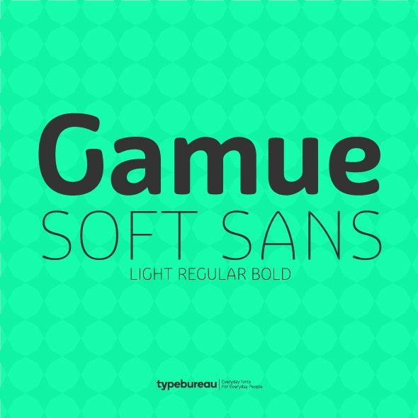 Gamue Soft Sans Serif Font - Miscellaneous Sans-Serif