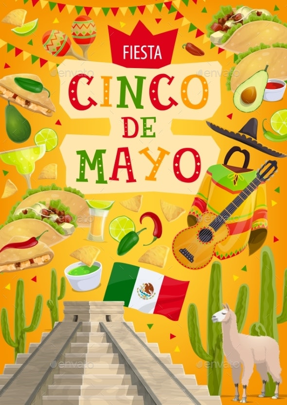 Mexican Holiday Cinco De Mayo - Miscellaneous Seasons/Holidays
