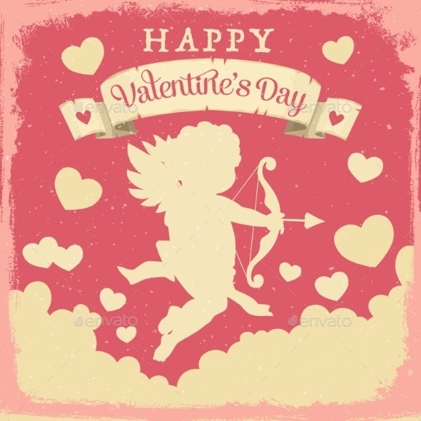 Valentines Day Cupid - Valentines Seasons/Holidays