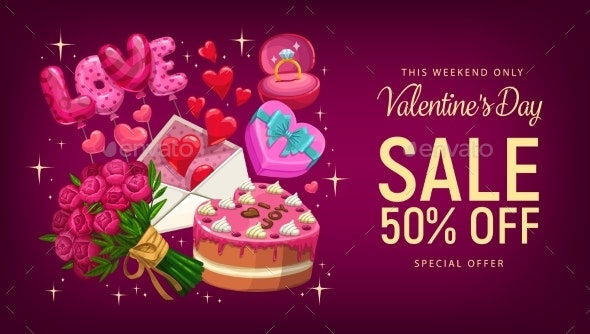 Valentines Day Gifts and Hearts - Valentines Seasons/Holidays