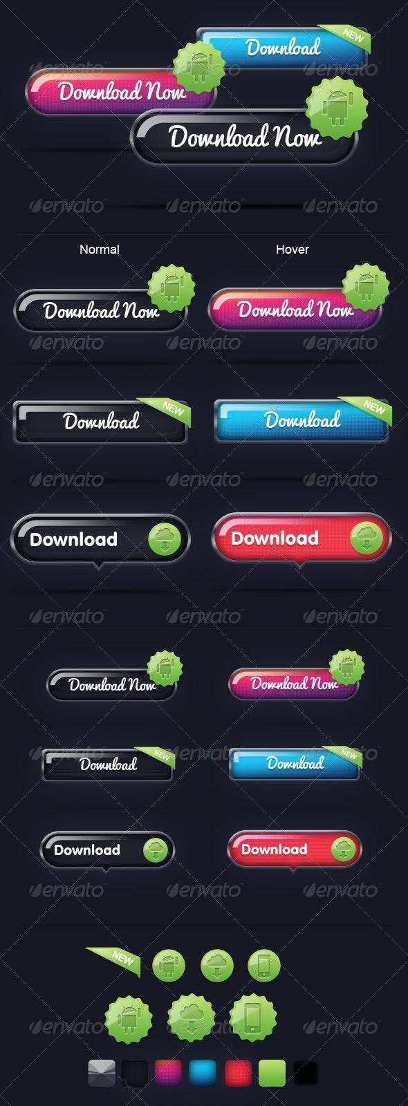 Next Gen Buttons - Buttons Web Elements