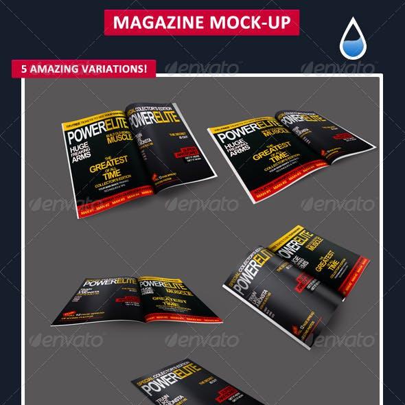 Magazine Mock-Up's 1