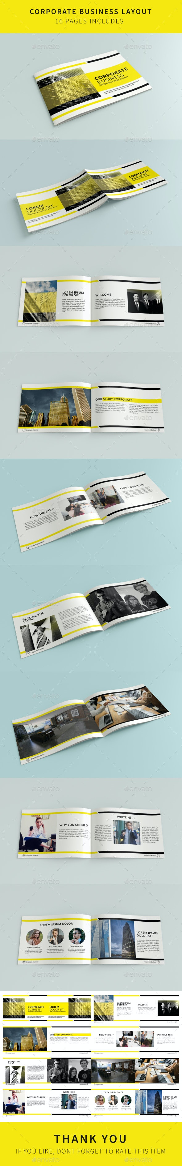 Corporate Template - Brochures Print Templates