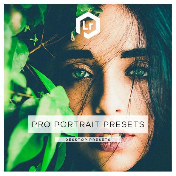 20 Pro Portrait Lightroom Presets