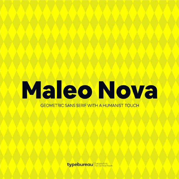 Maleo Nova Sans Serif Font