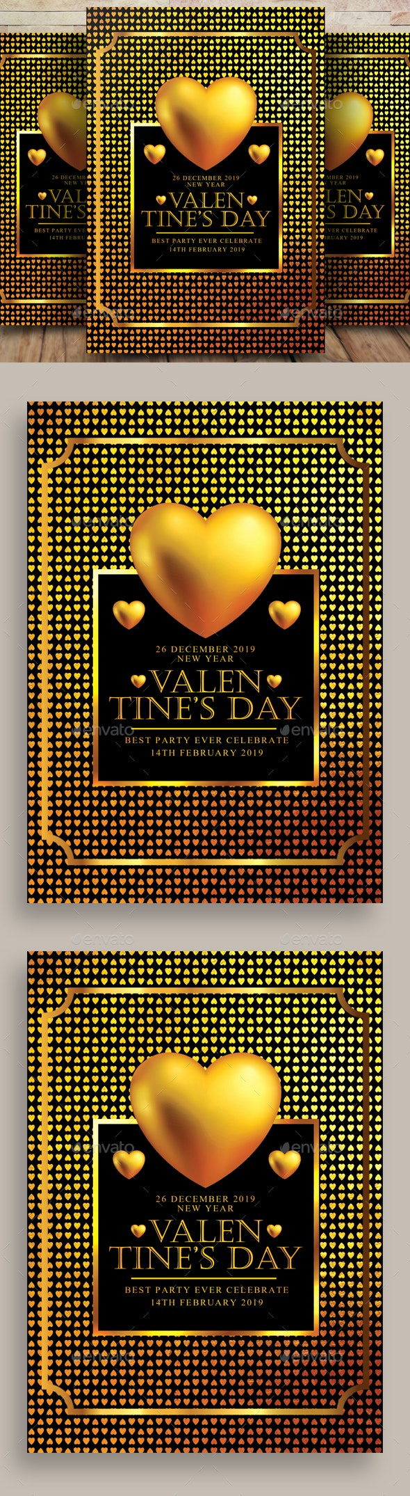 Valentines Day Flyer - Flyers Print Templates