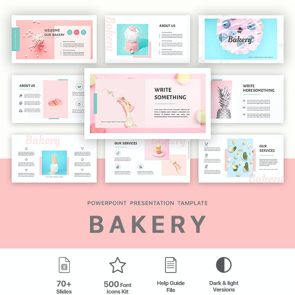 Bakery PowerPoint Presentations Template