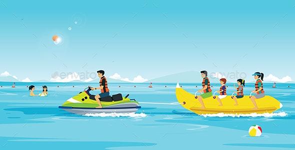 Bunana Boat - Sports/Activity Conceptual