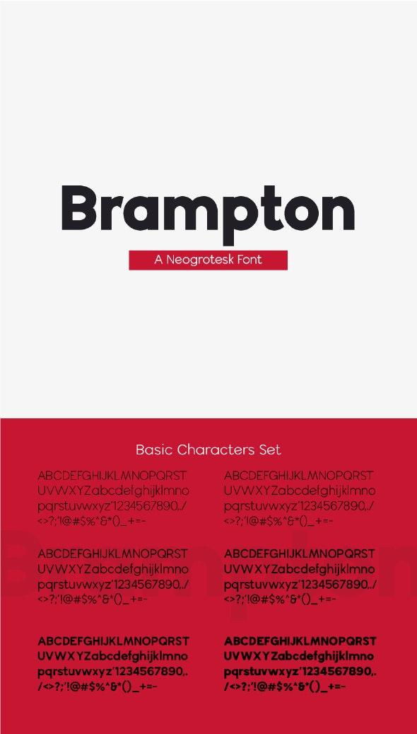 Brampton Sans - Sans-Serif Fonts