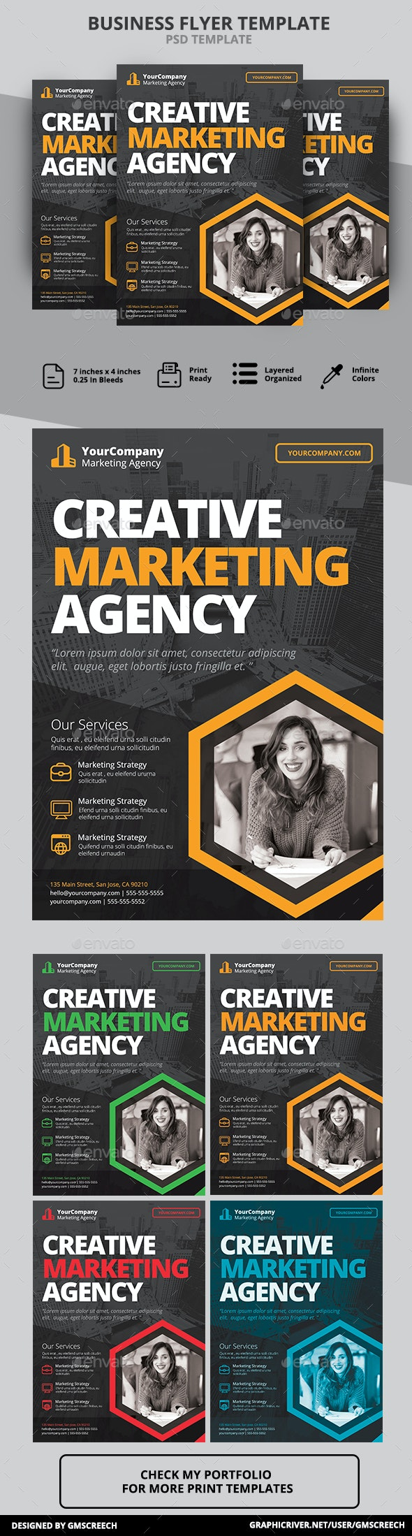 Agency Marketing Flyer - Corporate Flyers