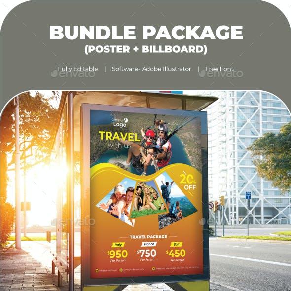 Travel Bundle (Poster+Billboard)