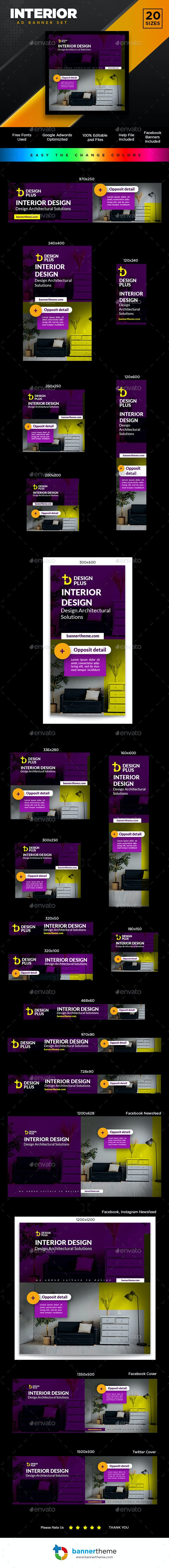 Interior Banner - Banners & Ads Web Elements