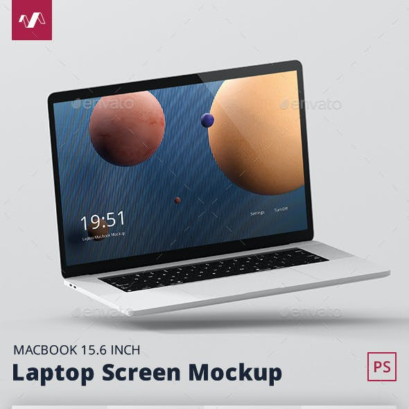 Laptop Screen Mockup