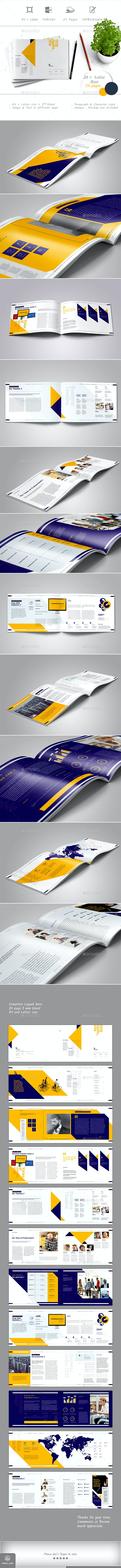 Horizontal Company Profile - Corporate Brochures