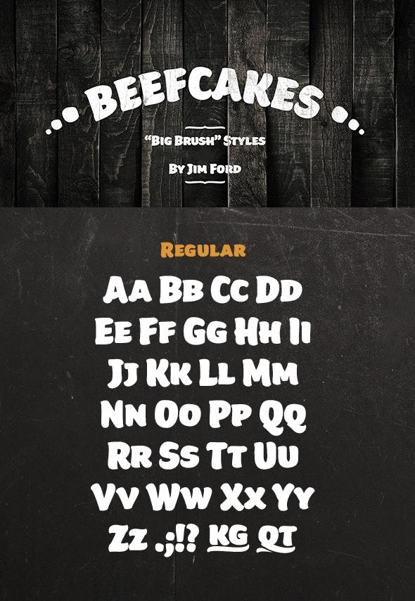 Beefcakes Regular - Decorative Fonts