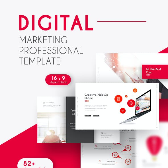 Digital Marketing Professional Presentation Template