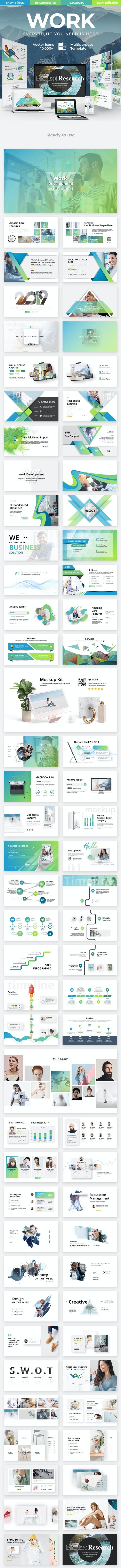 Work Development Business Powerpoint Template - Business PowerPoint Templates