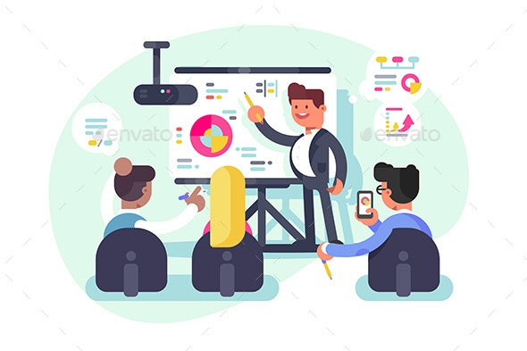 Business Meeting Teamwork - Concepts Business