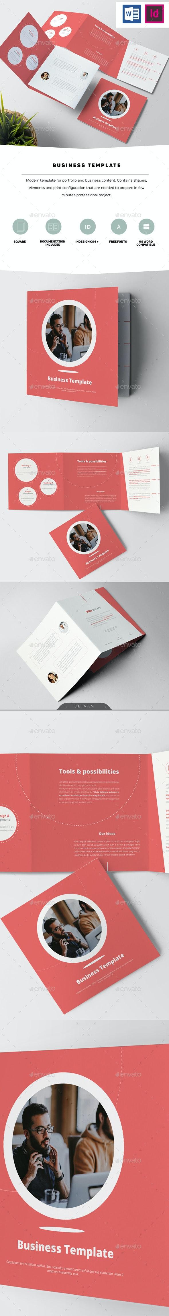 Business Template - Corporate Brochures