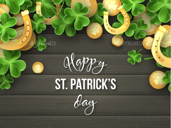 St. Patricks Day Greeting Holiday Design - Miscellaneous Seasons/Holidays