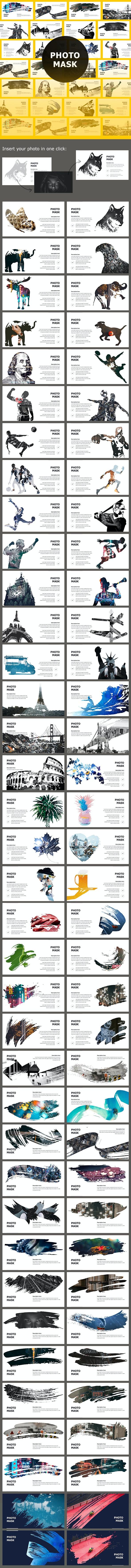 Photo Mask Keynote Themes - Creative Keynote Templates