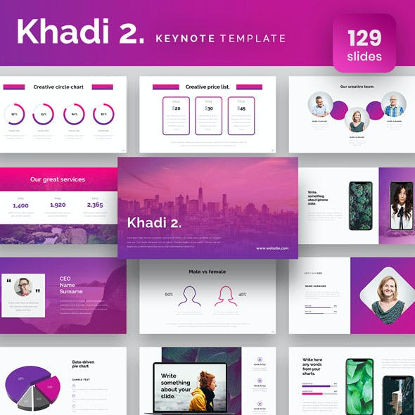 Khadi 2 Keynote Presentation Template
