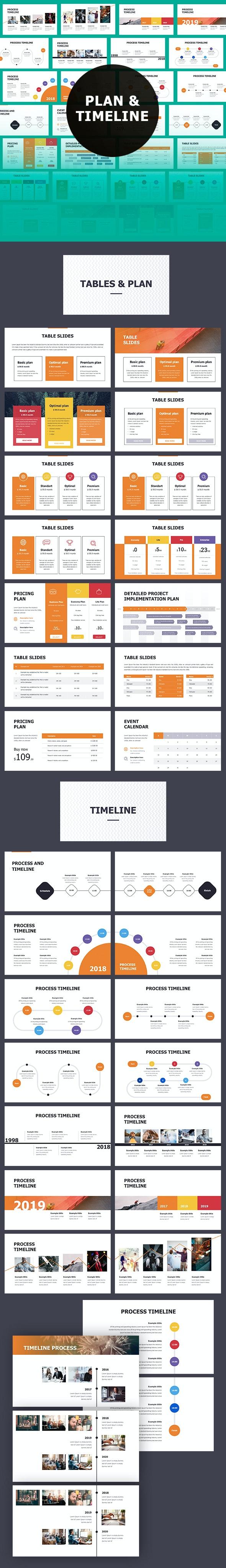 Timeline Keynote Themes - Business Keynote Templates