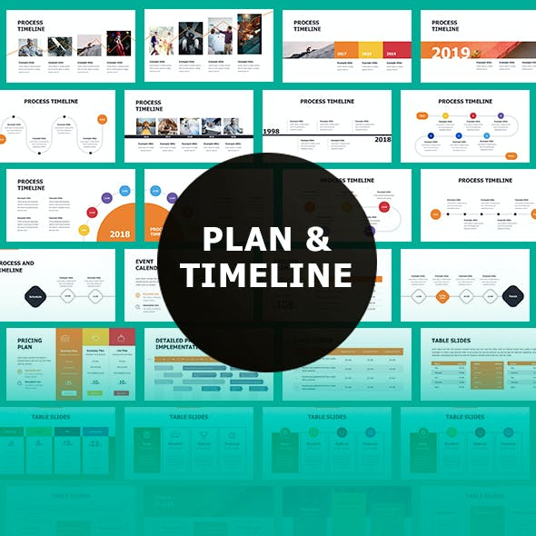 Timeline Google Slides Themes