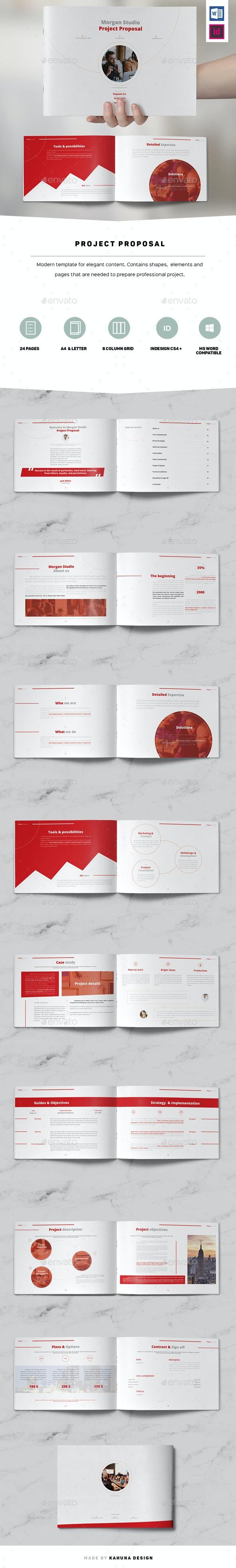 Project Proposal Landscape - Corporate Brochures