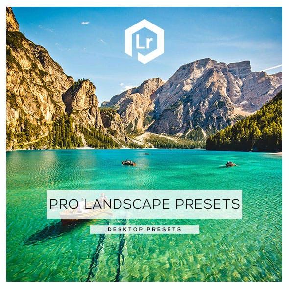 20 Pro Landscape Lightroom Presets