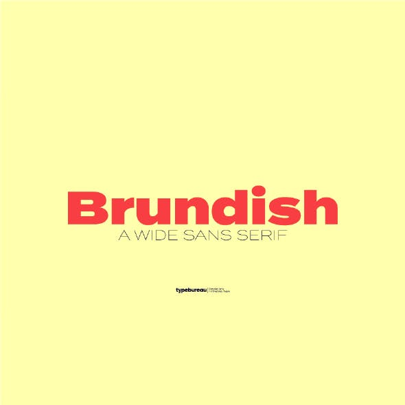 Brundish Sans Serif Font