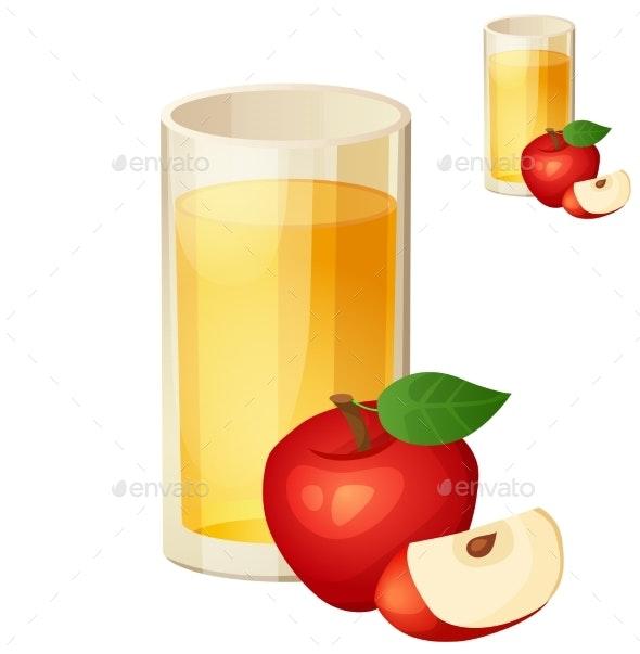 Apple Juice - Food Objects