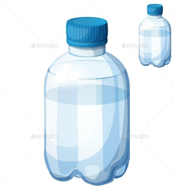 Bottle of Water - Food Objects