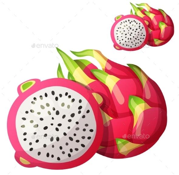 Dragon Fruit - Food Objects