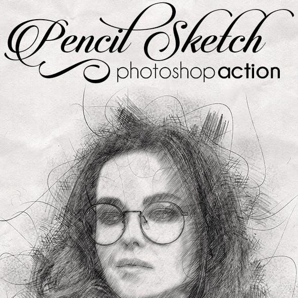 Pencil Sketch Effect Pro Action