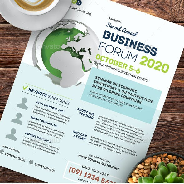 Multi-purpose Business Event Flyer & Poster Templates