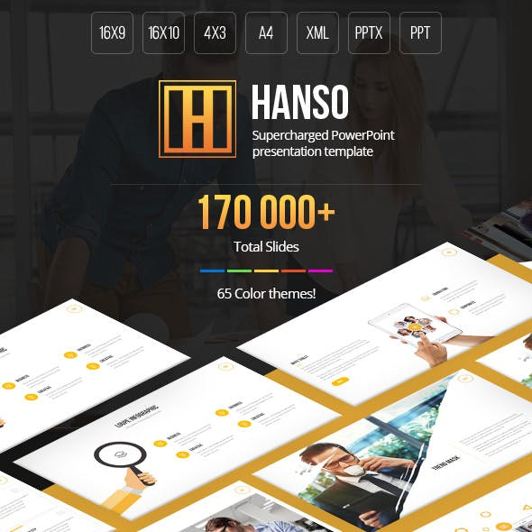 Hanso Multipurpose PowerPoint Template