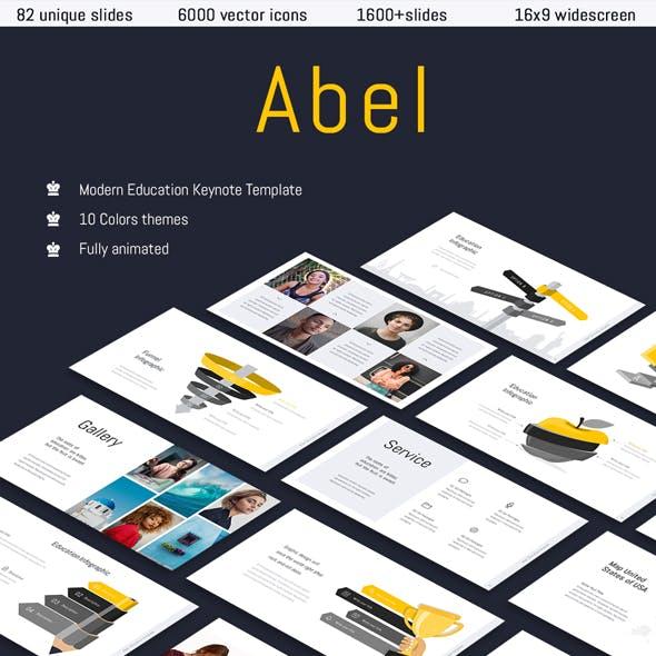 Abel-Education Keynote Template