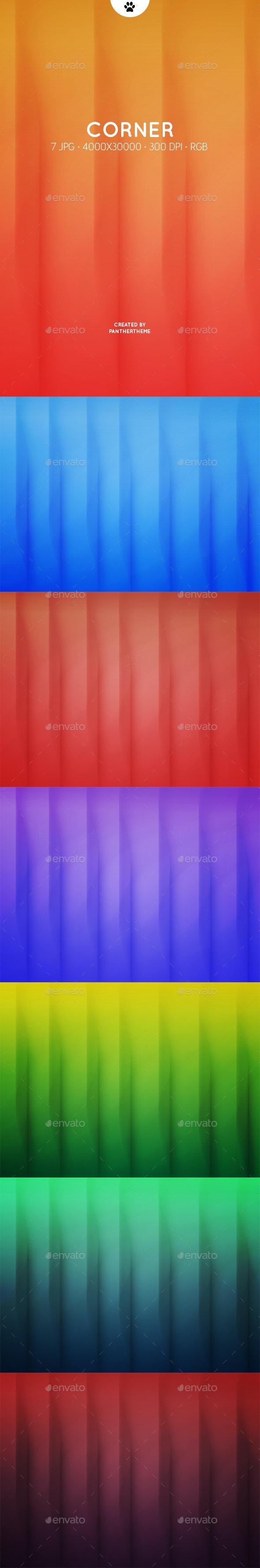 Corner Shadows Backgrounds - Abstract Backgrounds