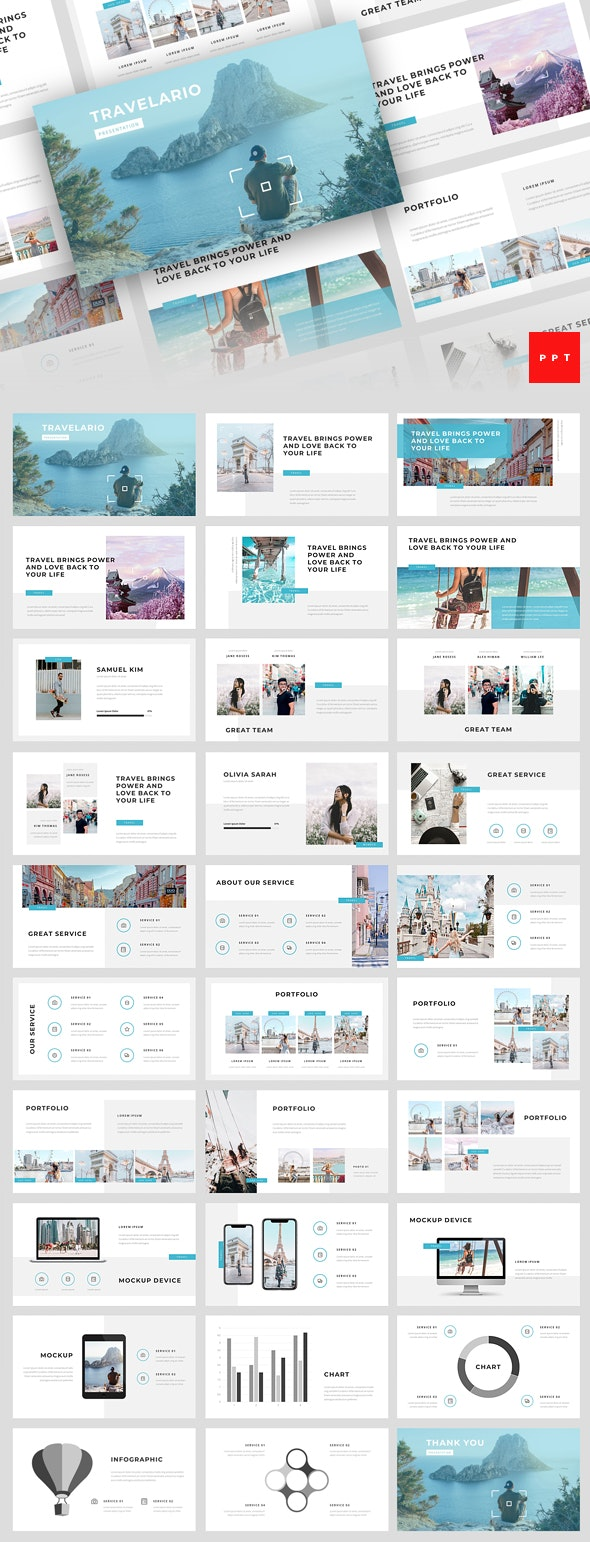 Travelario - Travel PowerPoint Template - Business PowerPoint Templates