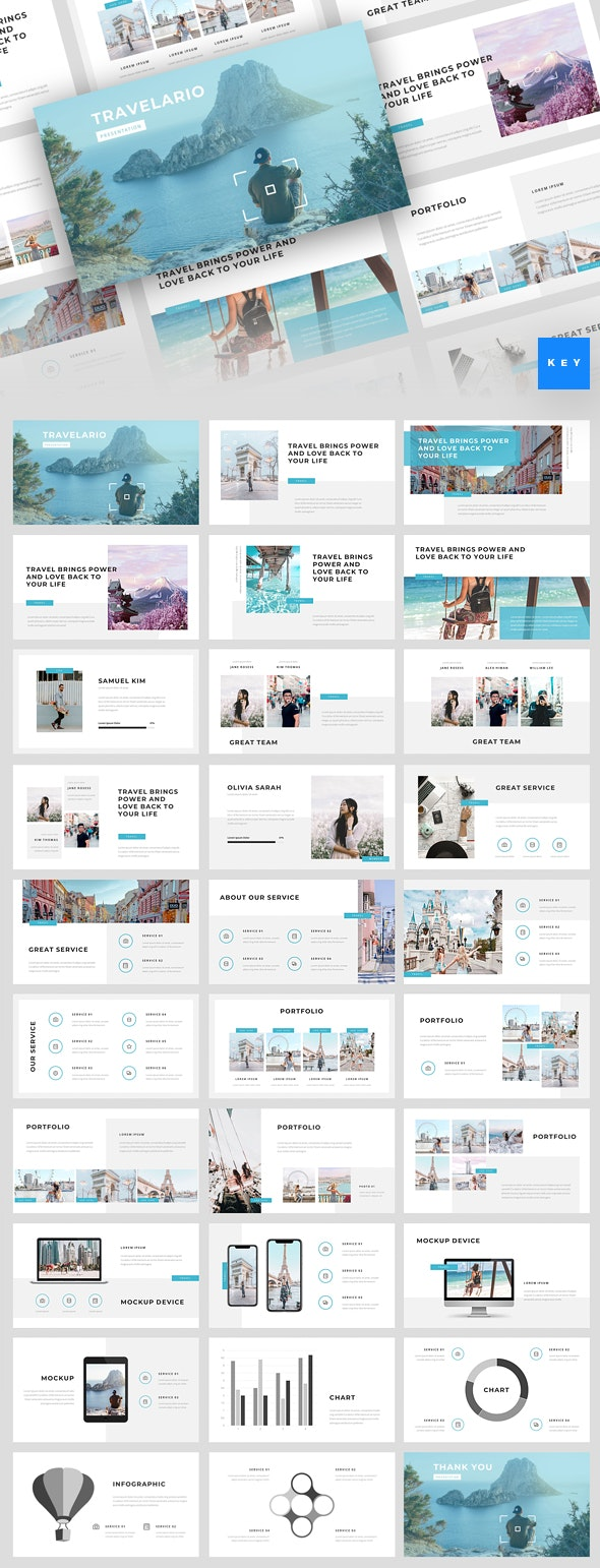 Travelario - Travel Keynote Template - Business Keynote Templates