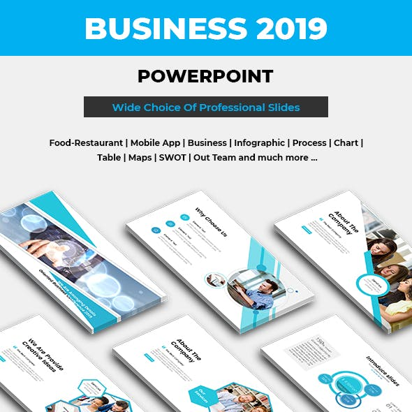 Business Professional Powerpoint Template 2019 Bundle