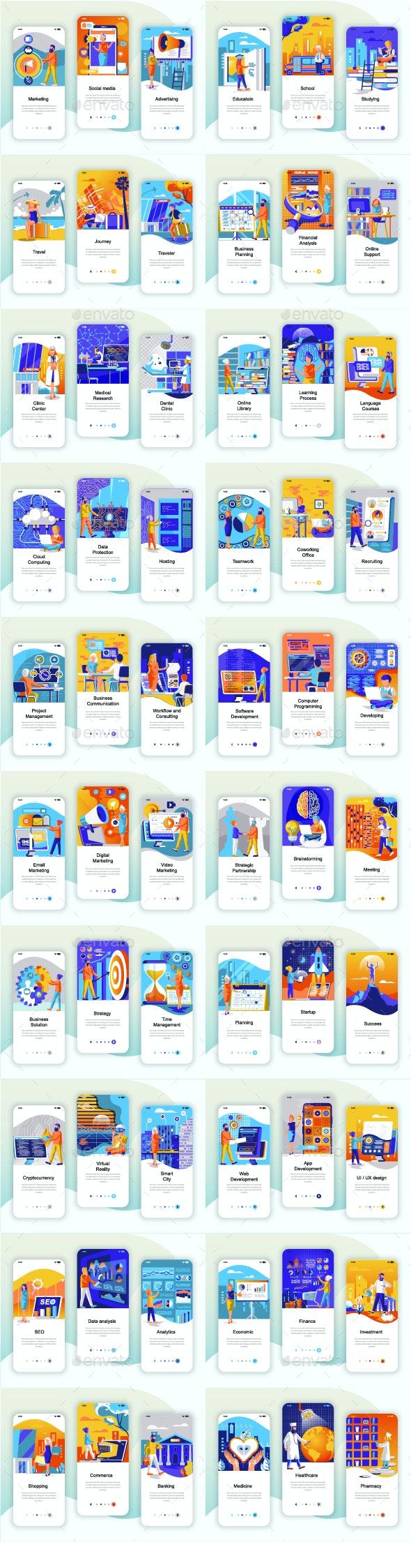 Instagram Stories Mobile App - Concepts Business