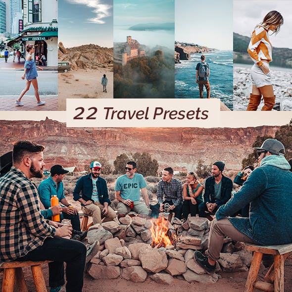 22 Travel Lightroom Presets