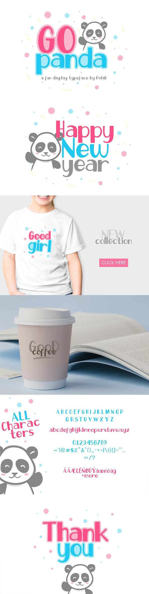 Go Panda Font - Fonts
