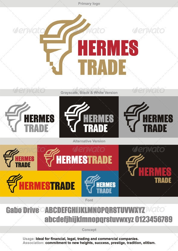 Hermestrade Logo - Humans Logo Templates