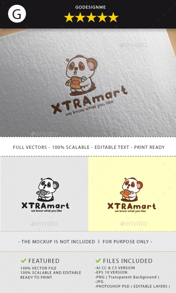 Xtramart Logo Design - Vector Abstract