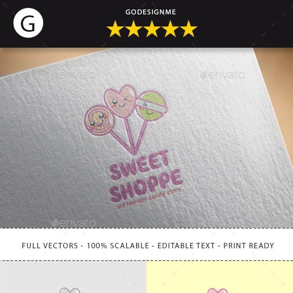 Sweet Shoppee Logo Design