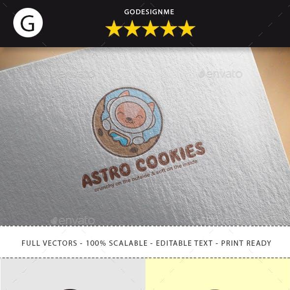 Astro Cookies Logo Design